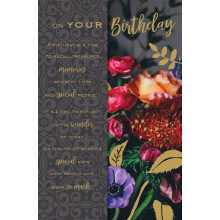 WHOLEHEARTEDLY On your birthday flowers