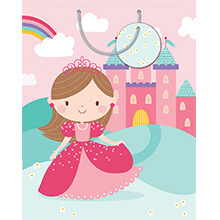 ARTWRAP GIFT BAG A PRINCESS MED BAG-01