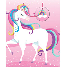 ARTWRAP GIFT BAG UNICORN RAINBOW