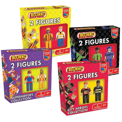 Blokko Assorted 2 Figures Pack