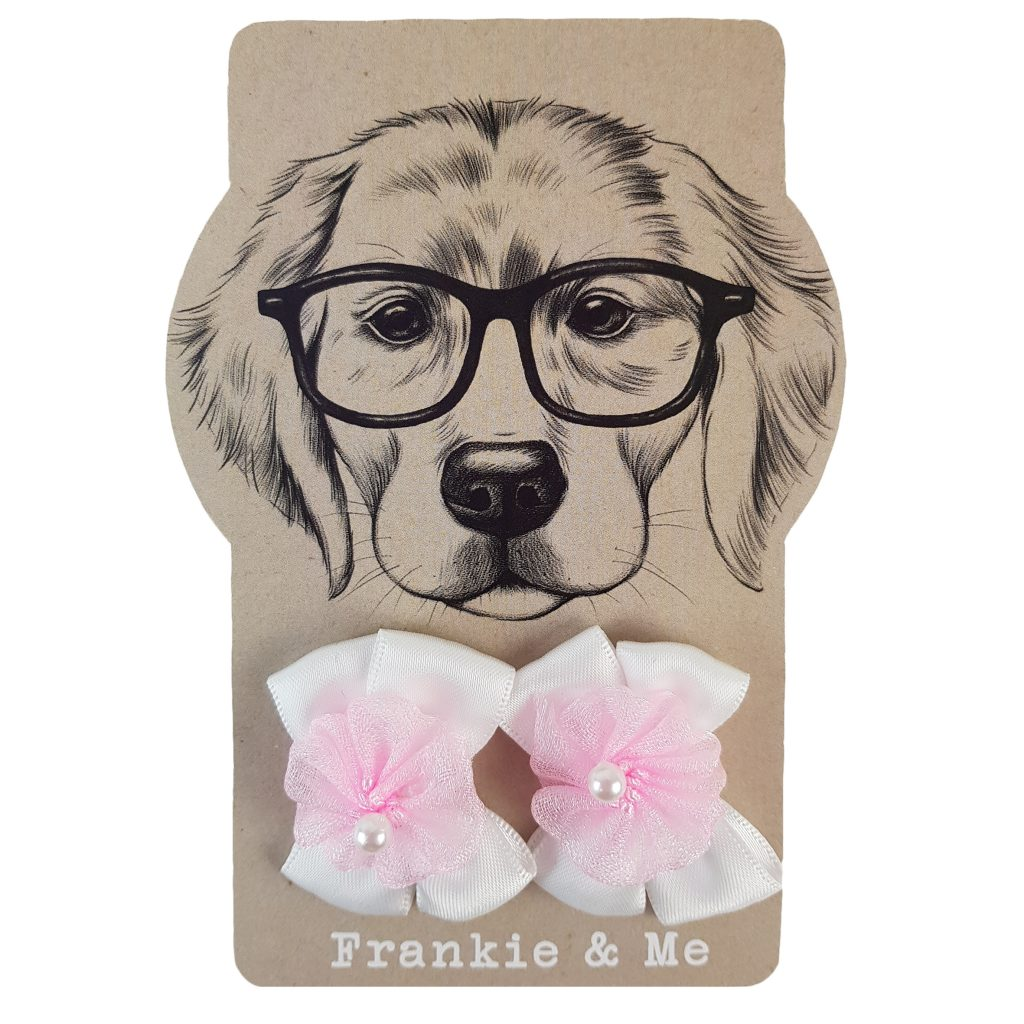 Frankie and Me Pet Accessories Pink Bows