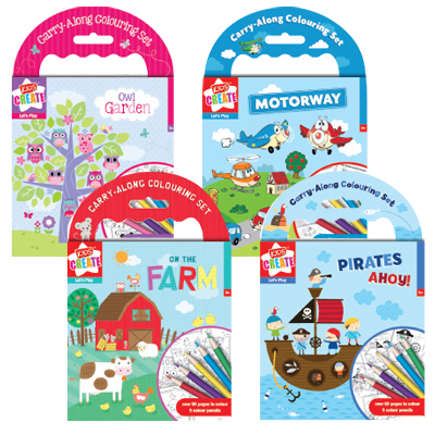 Kids Create Assorted Colouring Set