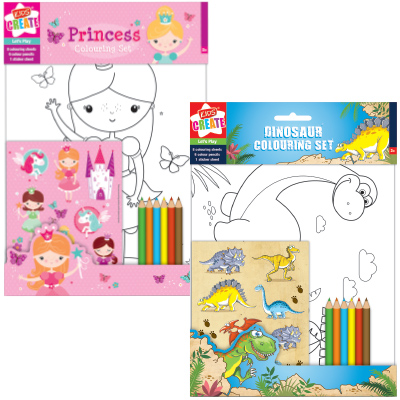 Kids Create Colouring Set