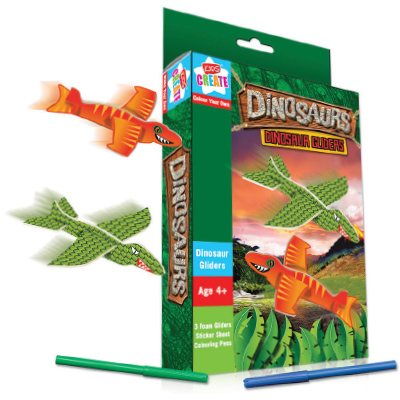 Kids Create FLYING DINOSAUR GLIDERS