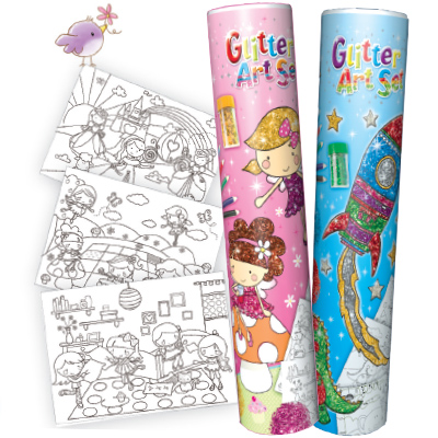 Kids Create Glitter Art Set