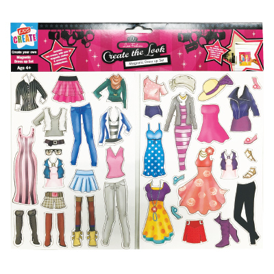 Kids Create MAGNETIC DRESS UP SET