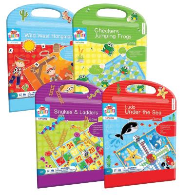 Kids Create MAGNETIC GAME ASSORTED