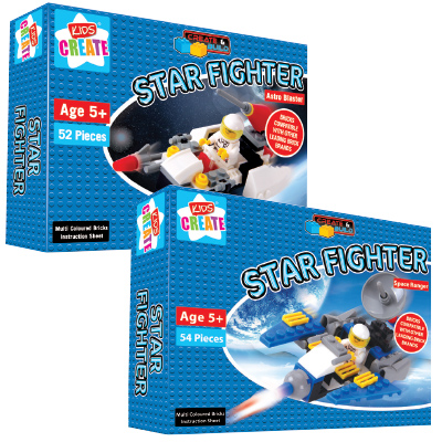 Kids Create Star Fighter