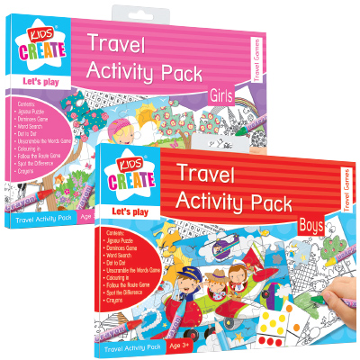 Kids Create Travel Activity Pack