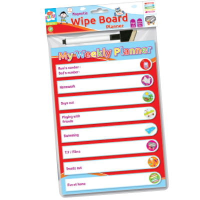 Kids Create White Board Planner