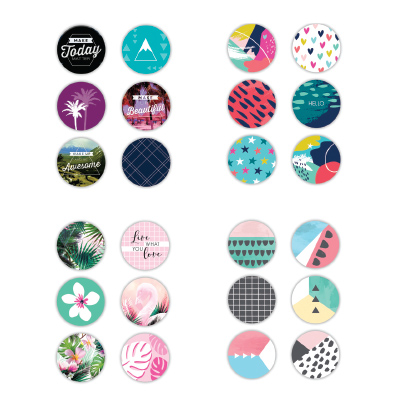 Paper Craft 6PK MAGNETS
