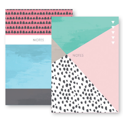 Paper Craft A4 NOTEBOOK MODERN