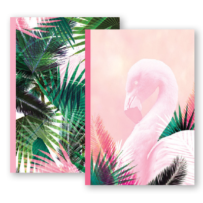 Paper Craft A4 NOTEBOOK TROPICAL