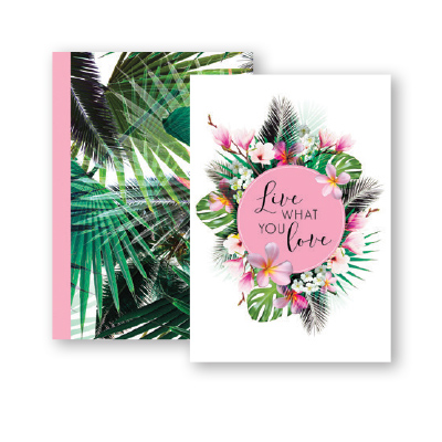 Paper Craft A5 NOTEBOOK TROPICAL
