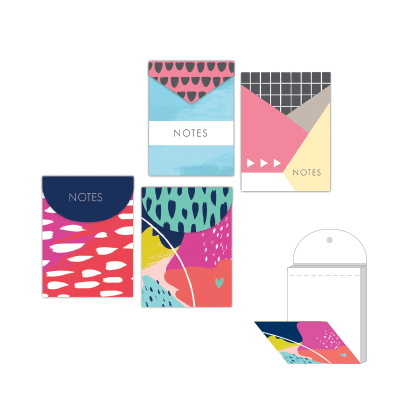 Paper Craft MAGNETIC MINI NOTEPADS