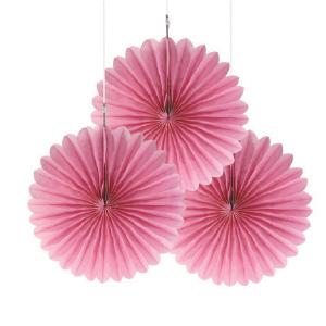 Pink Mini Hanging Fans