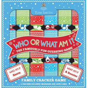 XAFTS4504 What Am I Novelty Crackers