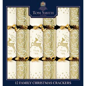 XAHTS1403 Cream & Gold Crackers