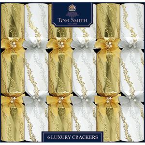 XAHTS2703 Gold & Cream Luxury Crackers
