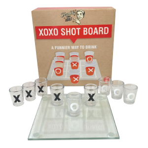 XOXO SHOT BOARD