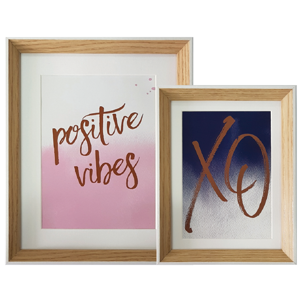 frankie and me frames positive vibes
