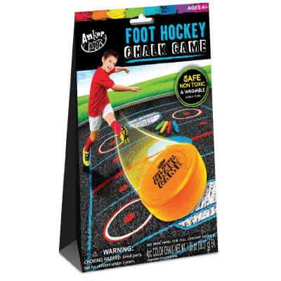 Anker Art FOOT HOCKEY CHALK GAME