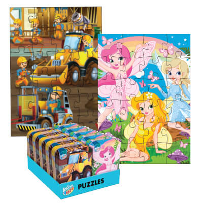Anker Art Mini Puzzle Tin Assorted