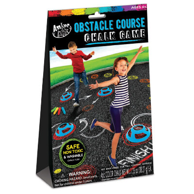 Anker Art OBSTACLE COURSE CHALK GAME