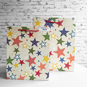 GIFT MAKER Stars Medium Large