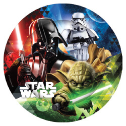 E2877 Star Wars Paper Plates