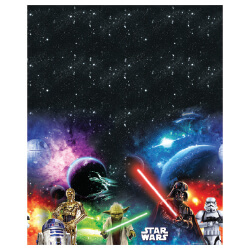 E2880 Star Wars Printed Plastic Table Cover