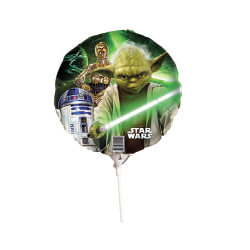 E2893 Star Wars Yoda Foil Balloon
