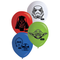 E2896 Star Wars Printed Balloons