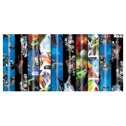 E3558 Star Wars Tall Roll Wrap