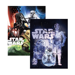 E4688 Star Wars Large Bag assorted