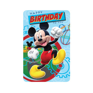 Premium Mickey Card DIS17449