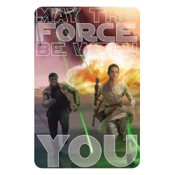 STW27416 $3 Card Star Wars