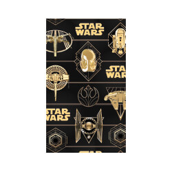 WEW802 Star Wars Gold Flat Wrap