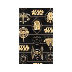 WEW802 Star Wars Gold Flat Wrap