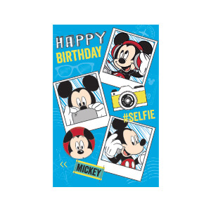 World Greetings Mickey Card DIS17399