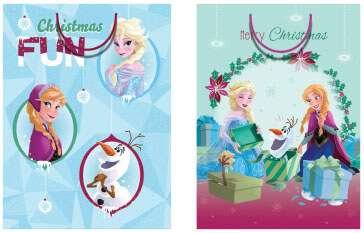 AX363 Frozen Licensed Jumbo Bags