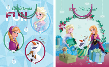 AX363 Frozen Licensed Large Bags