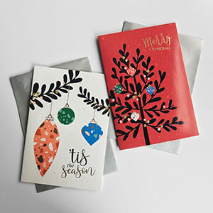 Rectangle Trend Boxed Christmas Card Variety 2