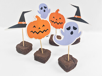 Halloween Cake Topper Printable