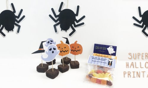 SUPER FUN HALLOWEEN PRINTABLES