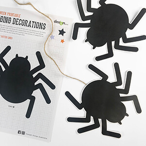 Halloween Spiders Printables