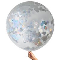 Iridescent 90cm Foil Balloon