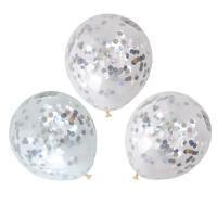 Iridescent Confetti Balloon 30cm