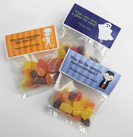 Halloween Treat Bags Printables