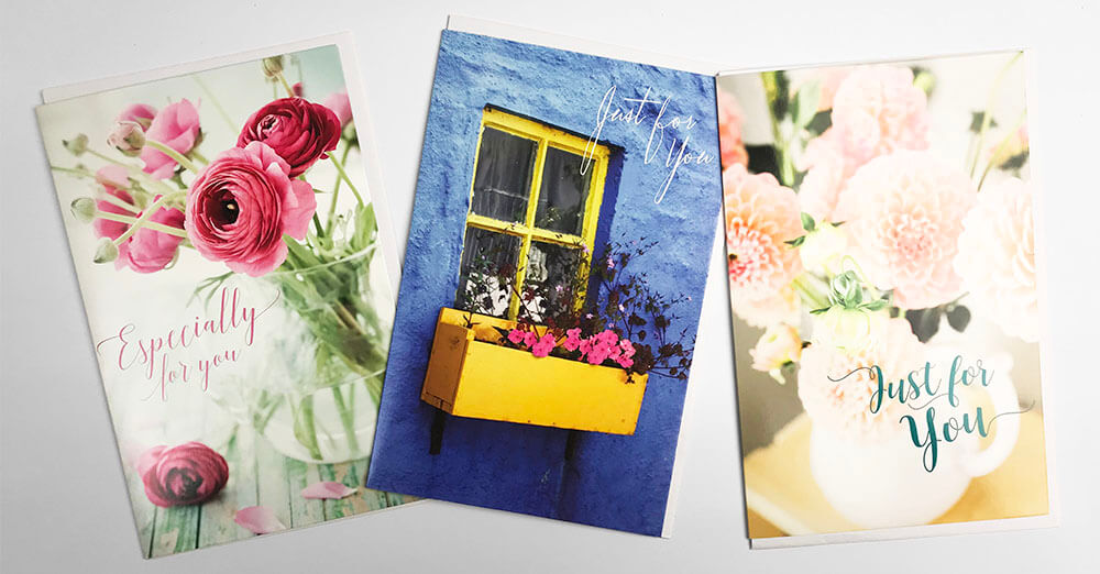 Snapshotz 3 x Floral Cards